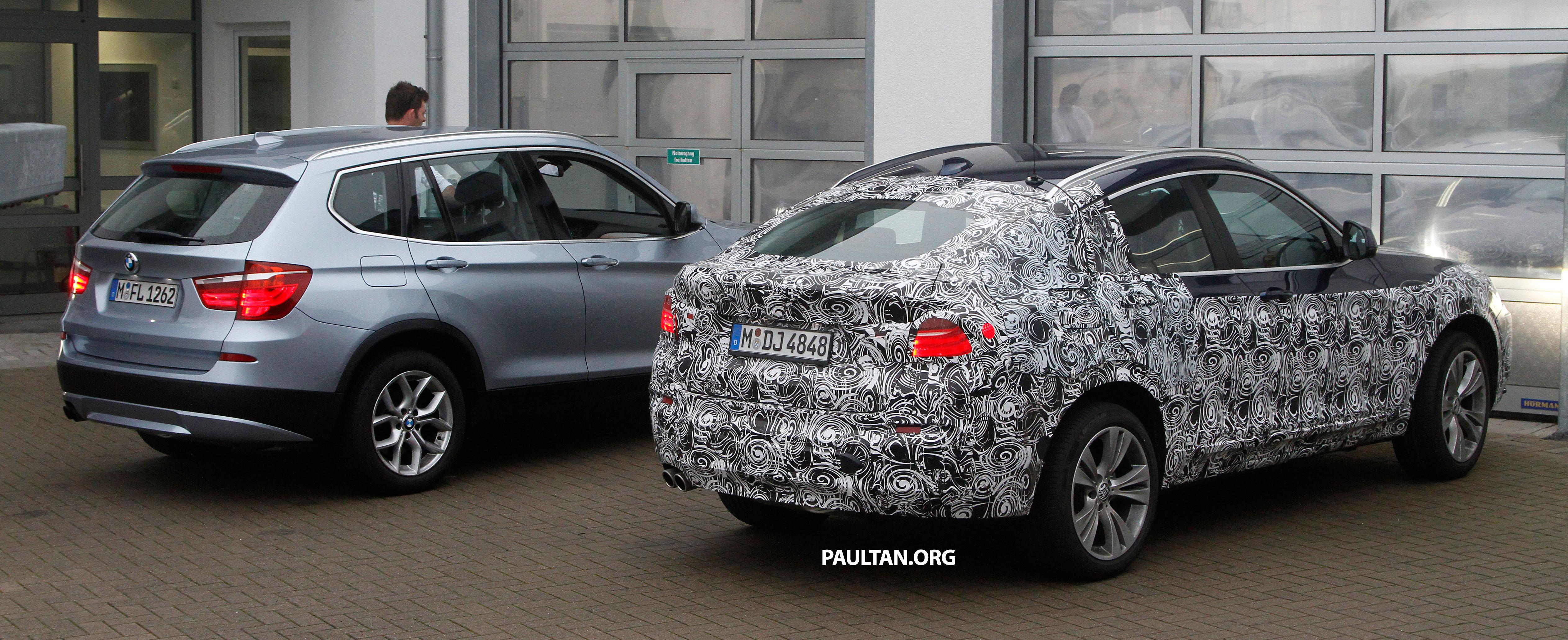 SPYSHOTS: BMW X4 Interior Revealed, Similar To X3 Image #202101
