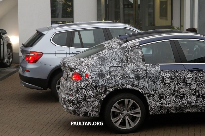 SPYSHOTS: BMW X4 interior revealed, similar to X3 Image #202102