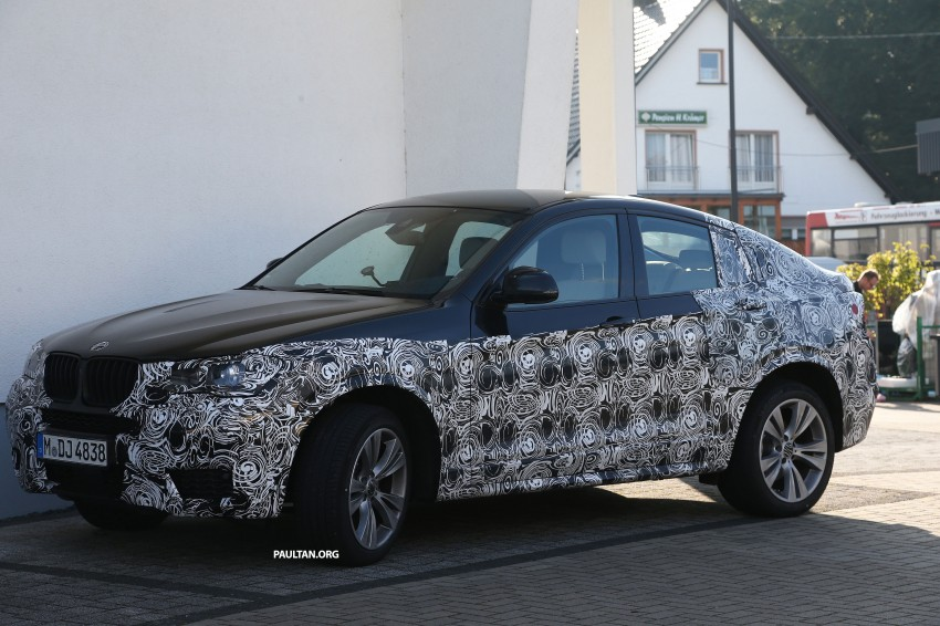 SPYSHOTS: BMW X4 interior revealed, similar to X3 Image #202104