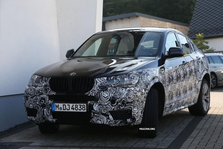 SPYSHOTS: BMW X4 interior revealed, similar to X3 Image #202105