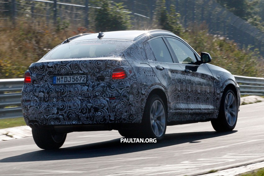 SPYSHOTS: BMW X4 interior revealed, similar to X3 Image #202107