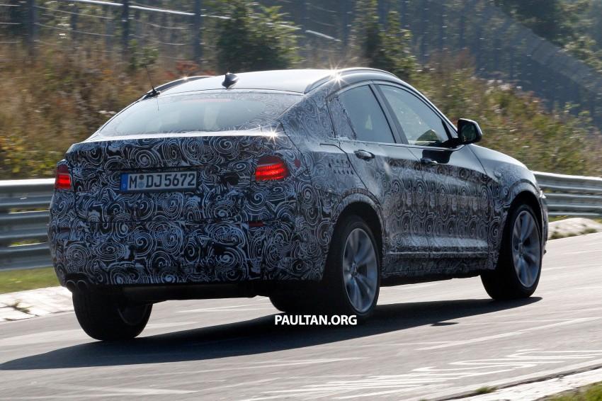SPYSHOTS: BMW X4 interior revealed, similar to X3 Image #202107