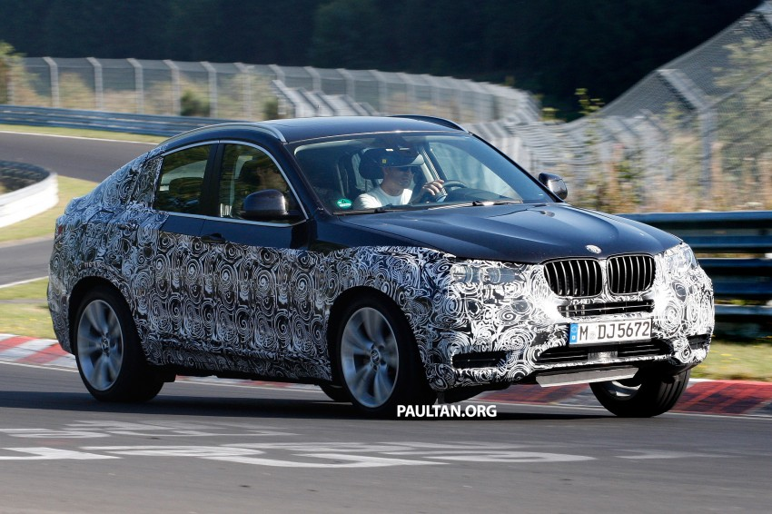 SPYSHOTS: BMW X4 interior revealed, similar to X3 Image #202109