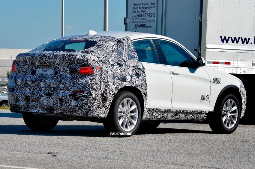 SPYSHOTS: BMW X4 interior revealed, similar to X3 Image #202113