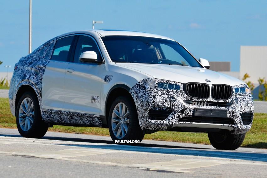 SPYSHOTS: BMW X4 interior revealed, similar to X3 Image #202115