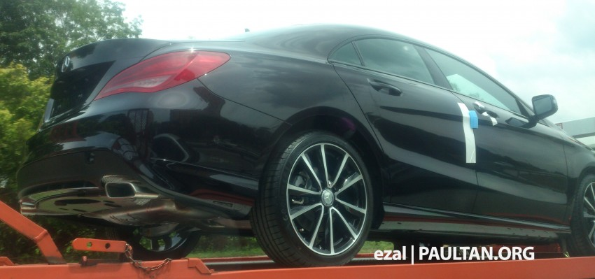 SPIED: Mercedes-Benz CLA-Class spotted in Malaysia Image #206425