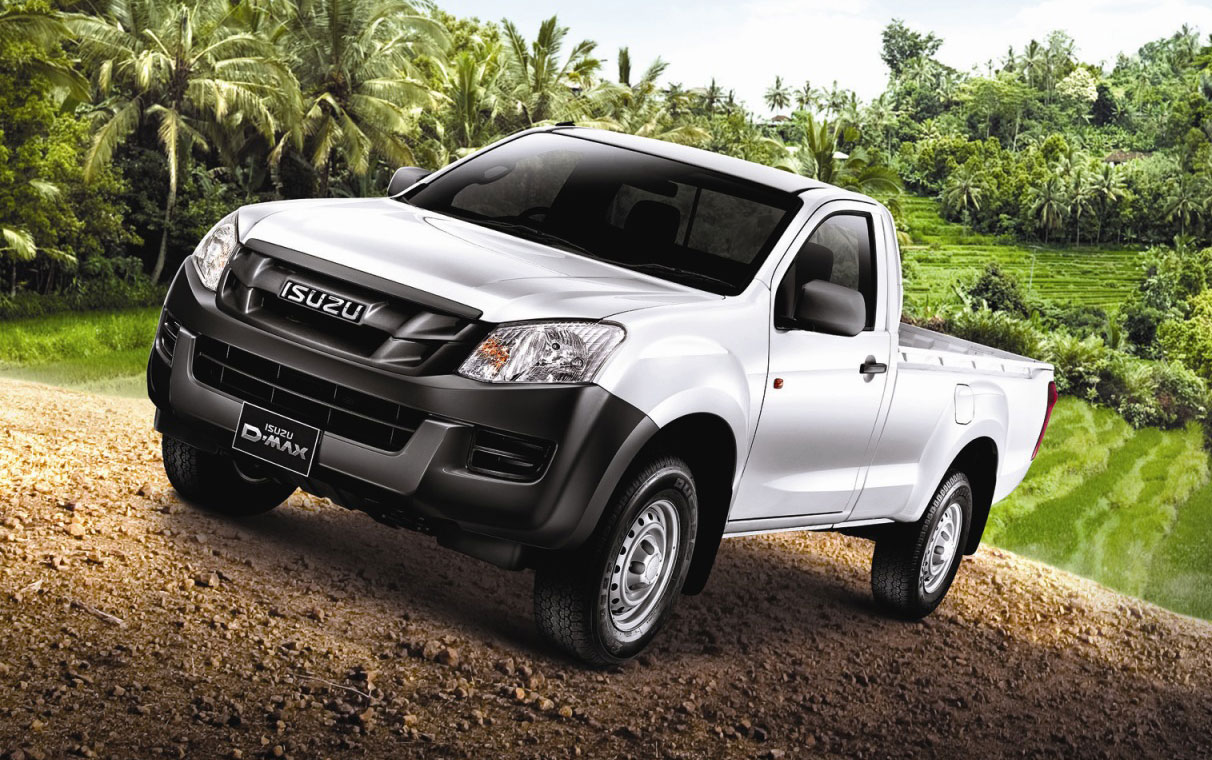 Isuzu D-Max Single Cab - 4X2 and 4X4, from RM60k