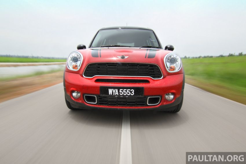 DRIVEN: MINI Cooper S Countryman 2WD reviewed Image #204981