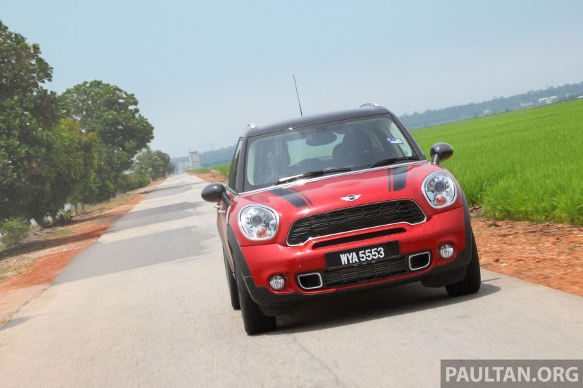 DRIVEN: MINI Cooper S Countryman 2WD reviewed Image #204979