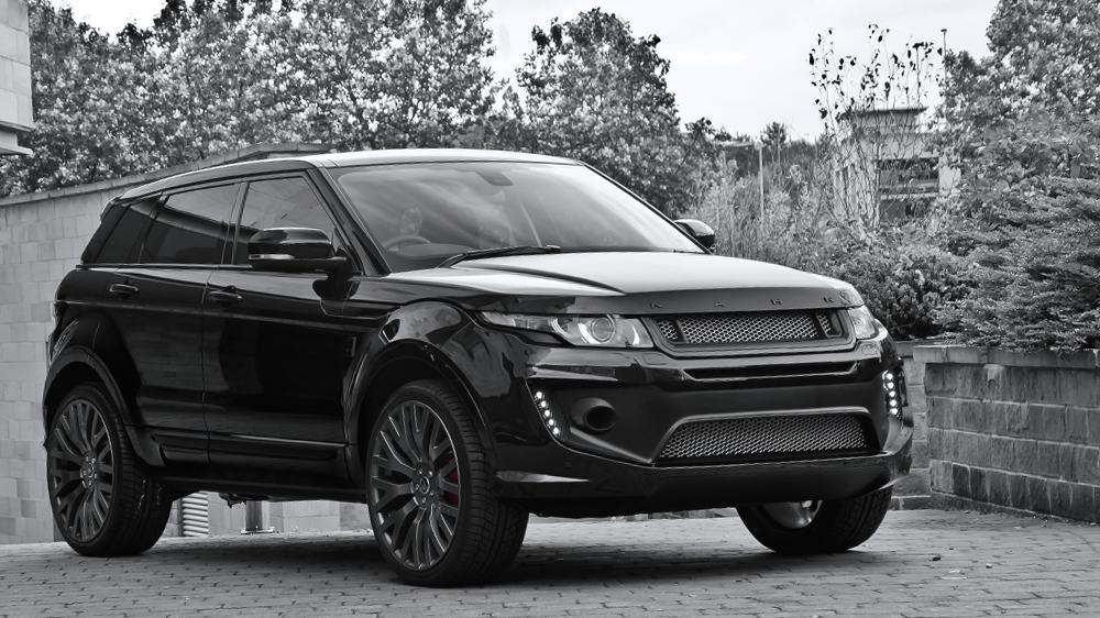 Range Rover Evoque Blacked Out >> Range Rover Evoque Black Label Edition by Kahn Image 202764