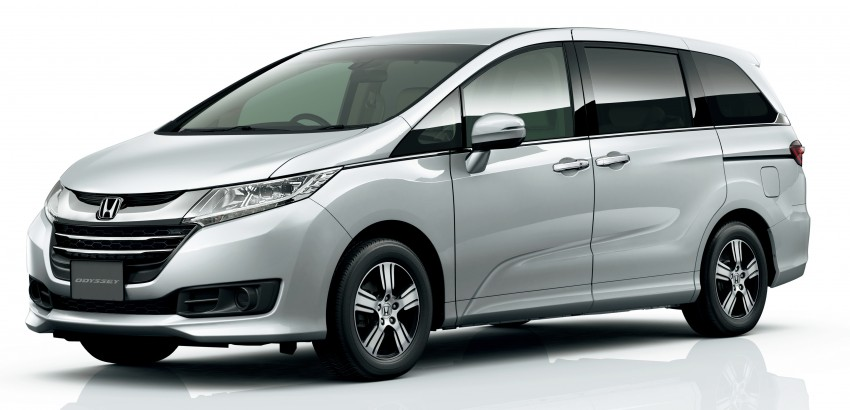 Honda Odyssey – fifth-gen launched in Japan Image #207499