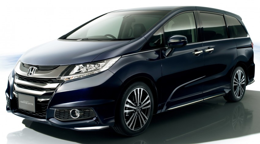 Honda Odyssey – fifth-gen launched in Japan Image #207498