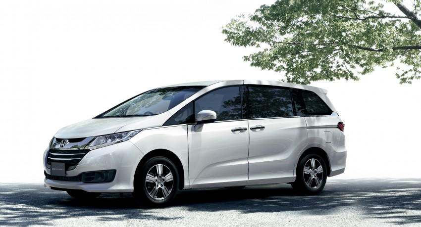Honda Odyssey – fifth-gen launched in Japan Image #207496
