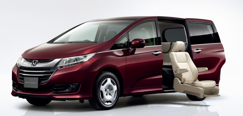 Honda Odyssey – fifth-gen launched in Japan Image #207493