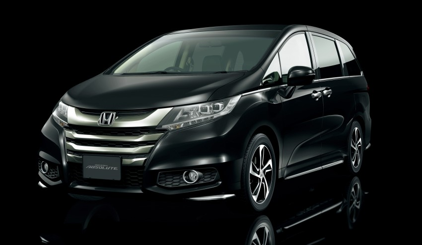 Honda Odyssey – fifth-gen launched in Japan Image #207489