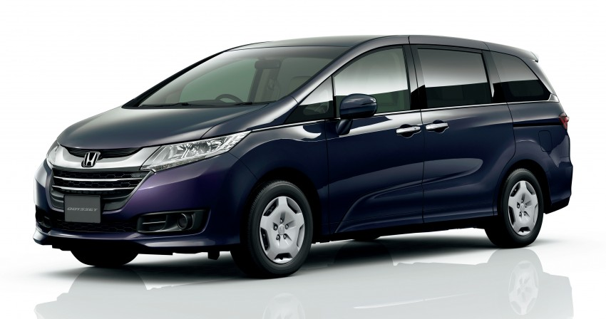 Honda Odyssey – fifth-gen launched in Japan Image #207488