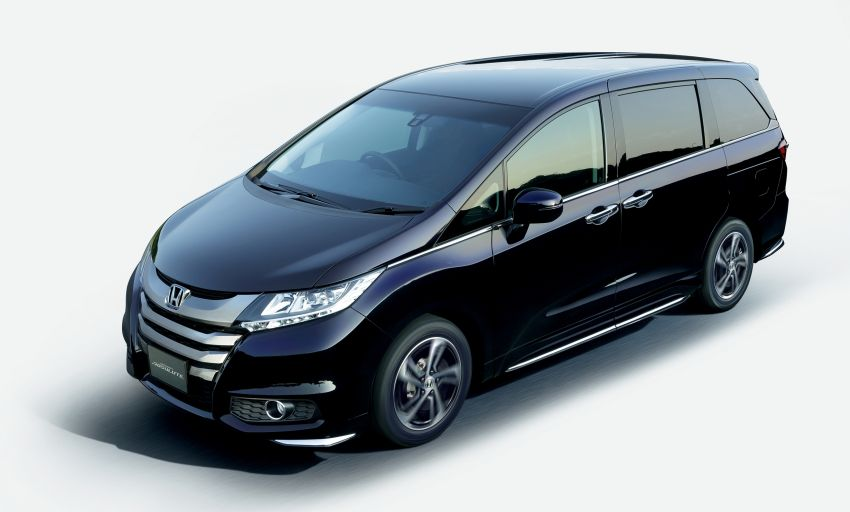 Honda Odyssey – fifth-gen launched in Japan Image #207486