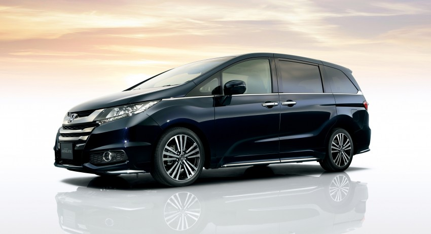 Honda Odyssey – fifth-gen launched in Japan Image #207485