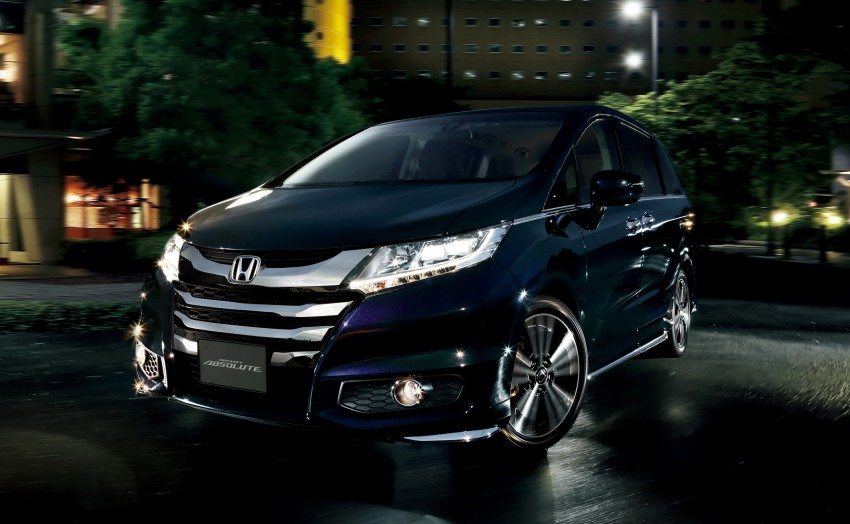 Honda Odyssey – fifth-gen launched in Japan Image #207483