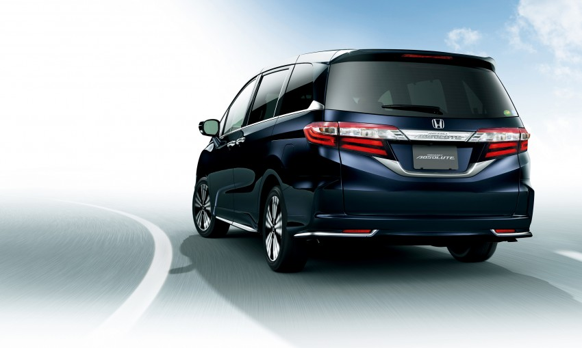 Honda Odyssey – fifth-gen launched in Japan Image #207547
