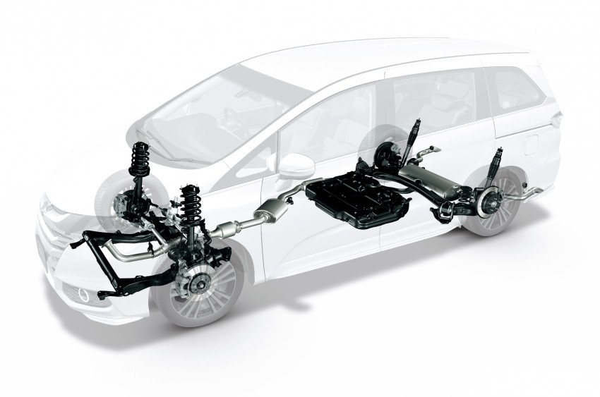 Honda Odyssey – fifth-gen launched in Japan Image #207541