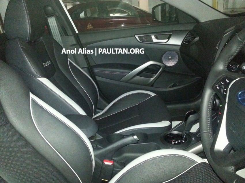 SPYSHOTS: Hyundai Veloster Turbo sighted at JPJ Image #203074