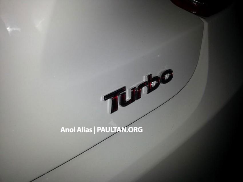 SPYSHOTS: Hyundai Veloster Turbo sighted at JPJ Image #203083