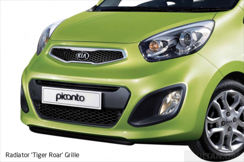 Kia Picanto Malaysian specs previewed on website Image #204713