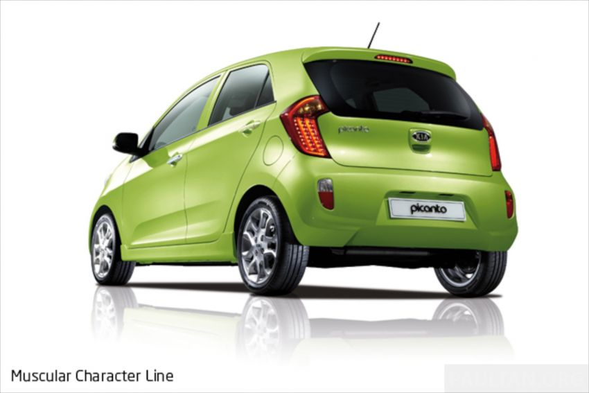 Kia Picanto Malaysian specs previewed on website Image #204702