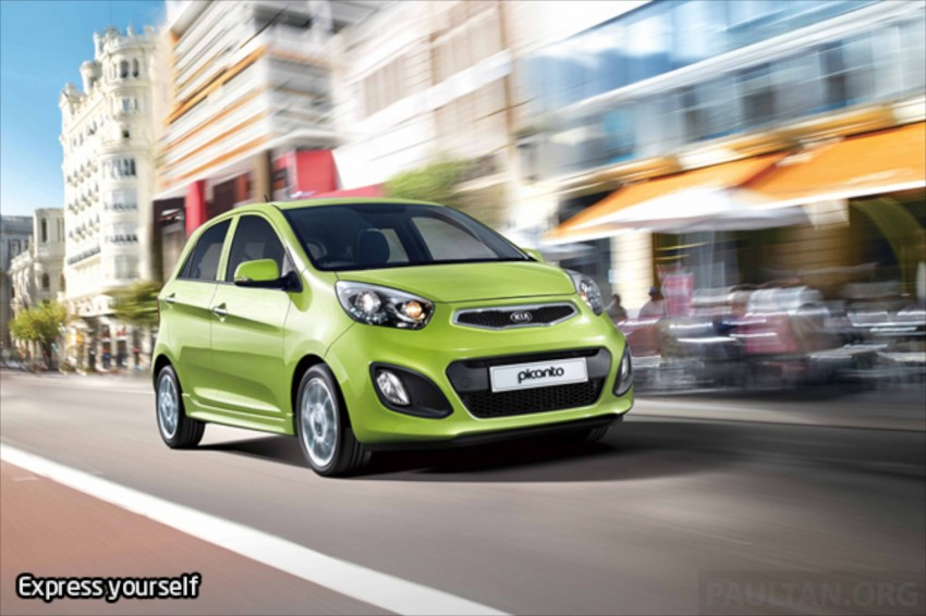 Kia Picanto Malaysian specs previewed on website Image #204703