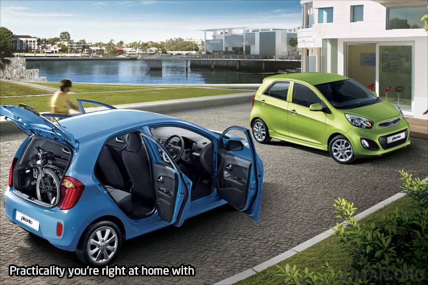Kia Picanto Malaysian specs previewed on website Image #204706