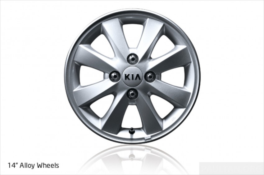 Kia Picanto Malaysian specs previewed on website Image #204707
