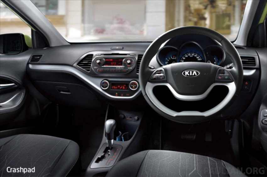 Kia Picanto Malaysian specs previewed on website Image #204697