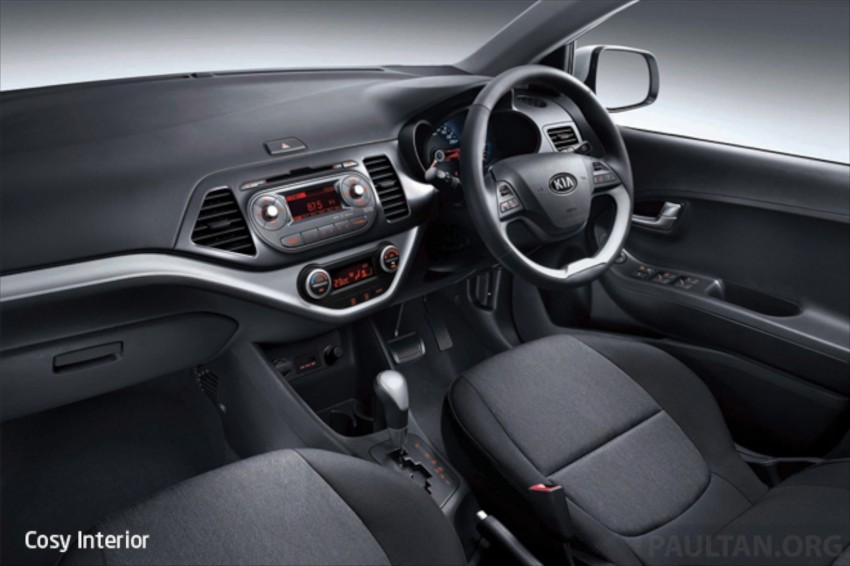 Kia Picanto Malaysian specs previewed on website Image #204684
