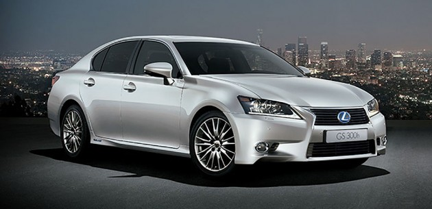 Lexus GS300h introduced in Malaysia, GS350 updated