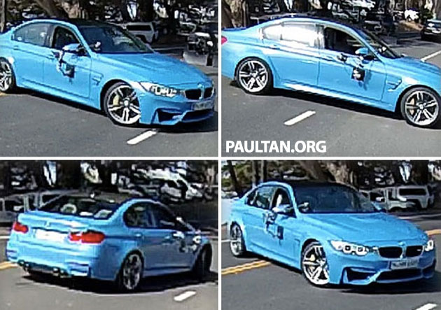 Production F80 BMW M3 caught undisguised Image #207119