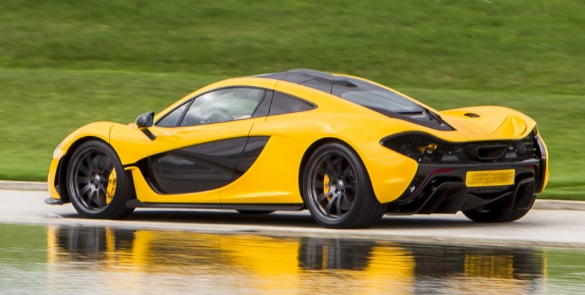 McLaren P1 – 0-100 km/h in 2.8 secs, 0-200 km/h in 6.8 Image #205745