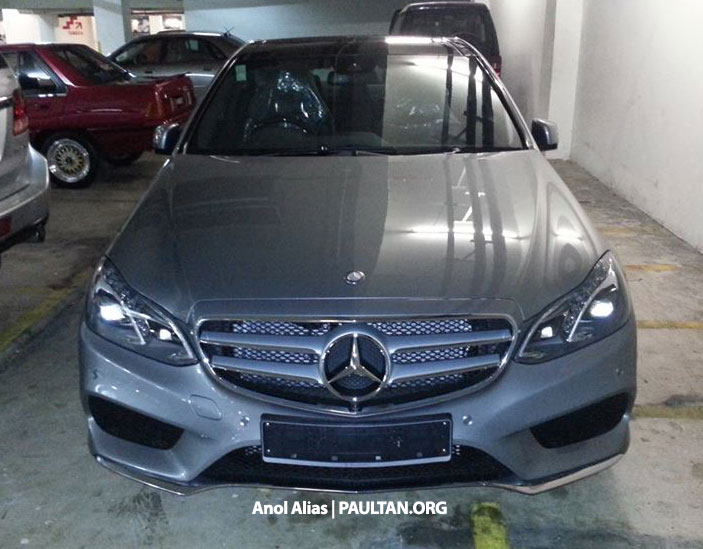 Mercedes-Benz E 400 AMG Sport seen at JPJ – CKD? Image #207139