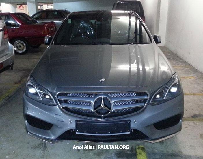 Mercedes-Benz E 400 AMG Sport seen at JPJ – CKD? Image #207139