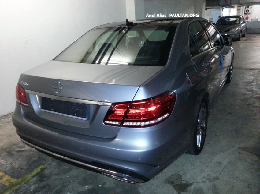 Mercedes-Benz E 400 AMG Sport seen at JPJ – CKD? Image #207142