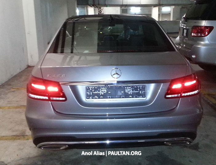 Mercedes-Benz E 400 AMG Sport seen at JPJ – CKD? Image #207144