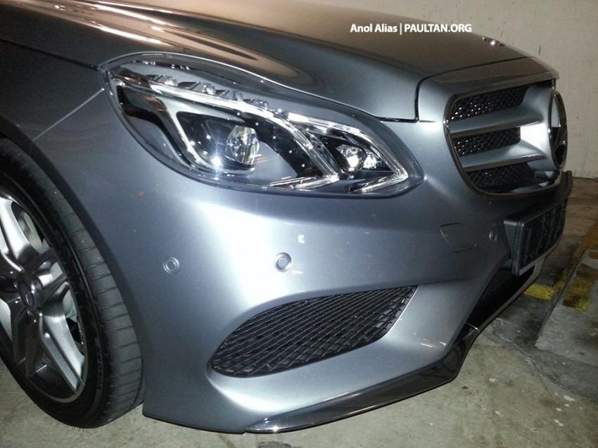 Mercedes-Benz E 400 AMG Sport seen at JPJ – CKD? Image #207154