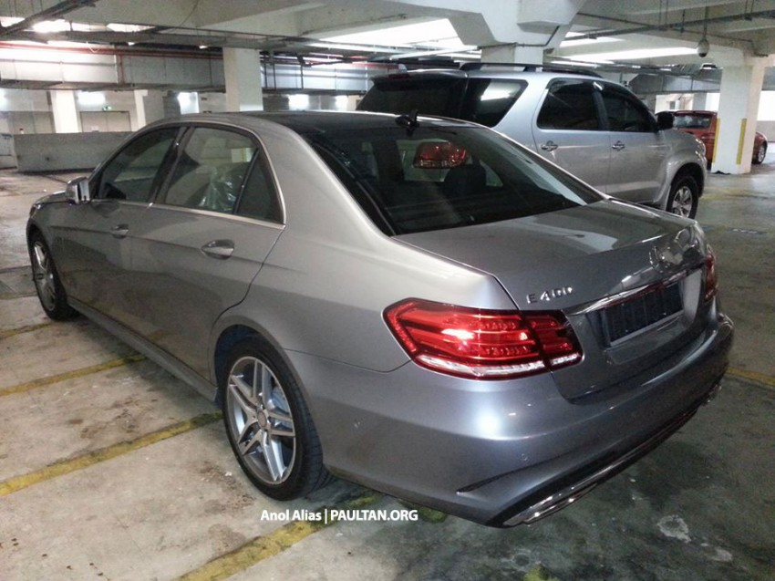 Mercedes-Benz E 400 AMG Sport seen at JPJ – CKD? Image #207157