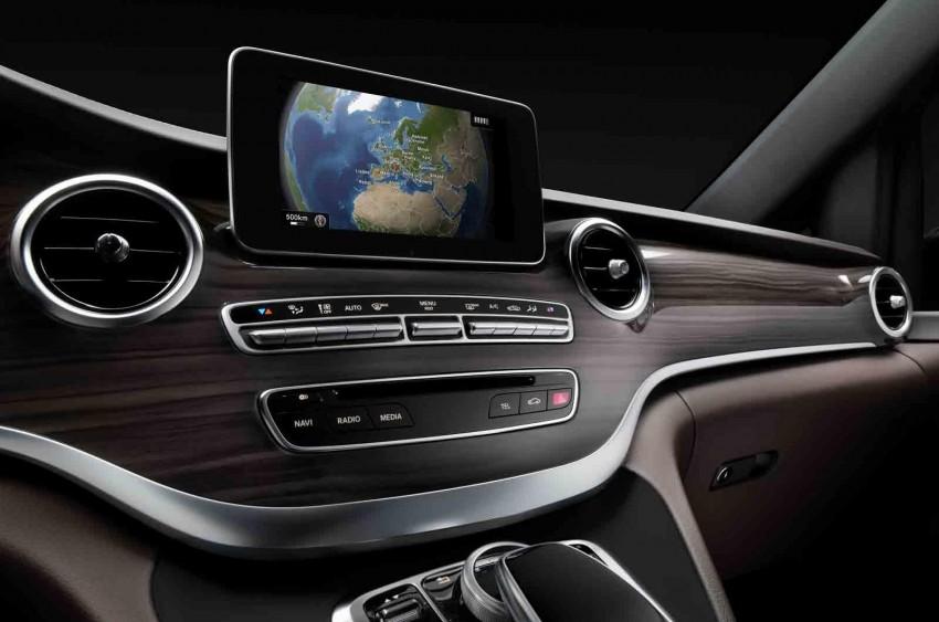Mercedes-Benz V-Class (W447) interior revealed Image #205670