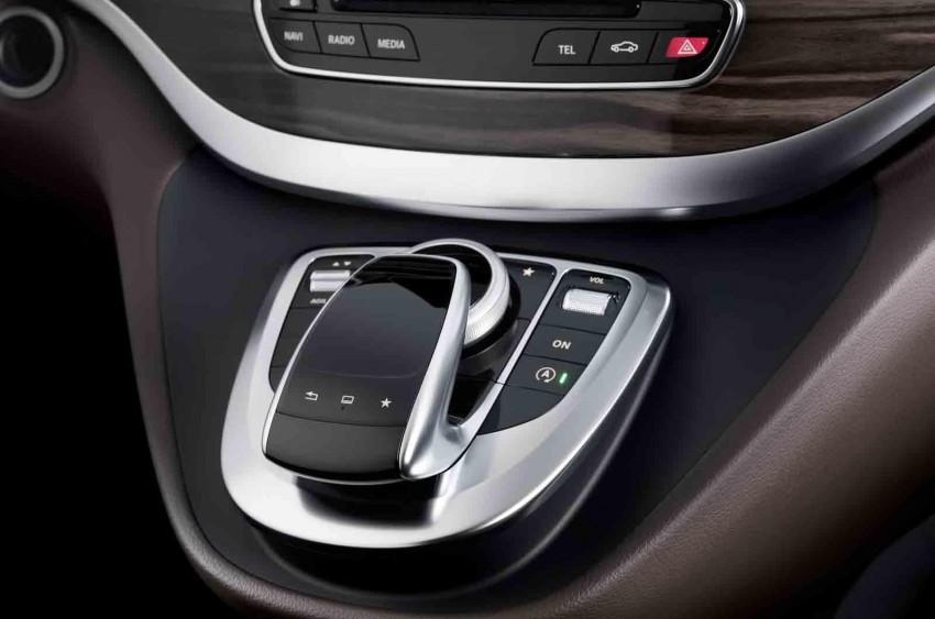 Mercedes-Benz V-Class (W447) interior revealed Image #205671
