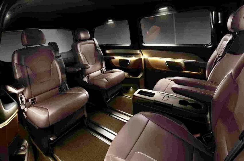 Mercedes-Benz V-Class (W447) interior revealed Image #205788