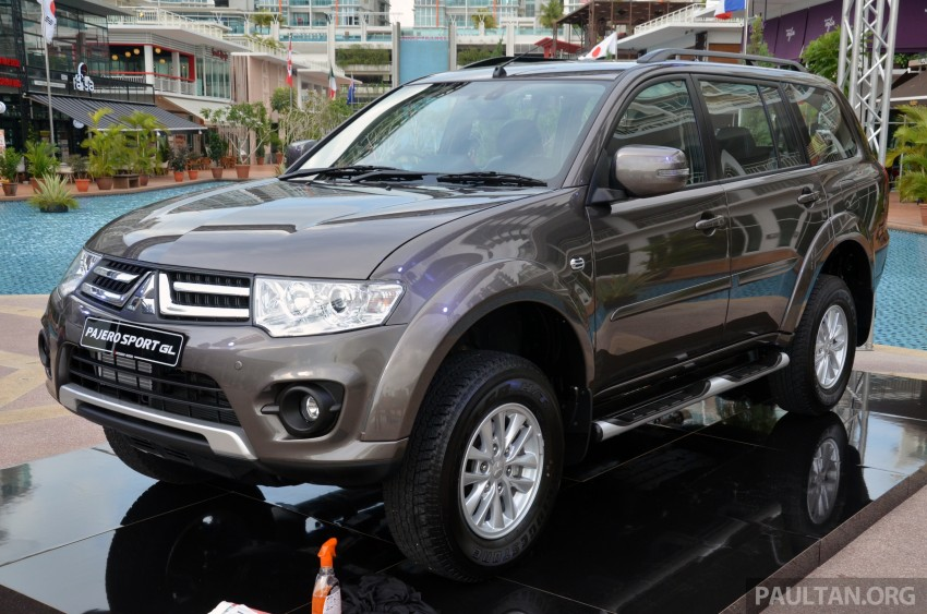 Mitsubishi Pajero Sport GL and Pajero Sport VGT enhanced for 2013 – priced at RM156k and RM177k Image #203668
