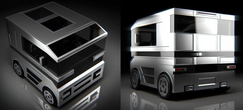 Lab Createrics One Door Car concept – a novel take Image #203512