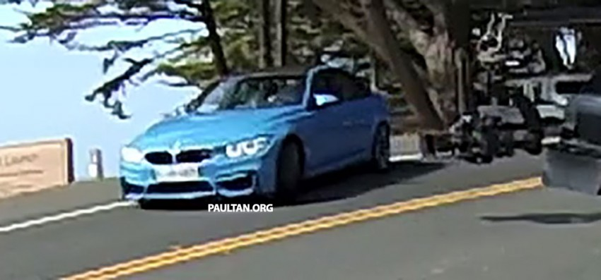 Production F80 BMW M3 caught undisguised Image #207200