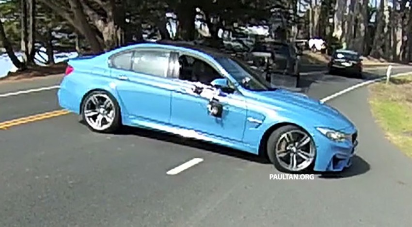 Production F80 BMW M3 caught undisguised Image #207198